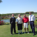 Rick Eudaley & Miromar Lakes Staff Members