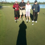 Bruce & Hilda Danforth, & Bill Skinner @ Naples Lakes